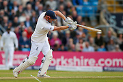 England & Yorkshire wicket keeper Jonny Bairstow  gives a chance to Sri Lanka Nuwan Pradeep  during day 2 of the first Investec Test Series 2016 match between England and Sri Lanka at Headingley Stadium, Headingley, United Kingdom on 20 May 2016. Photo by Simon Davies.