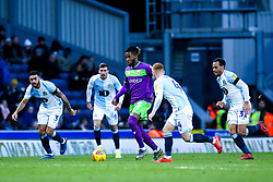 Kasey Palmer of Bristol City takes on the Blackburn Rovers defence - Mandatory by-line: Robbie Stephenson/JMP - 09/02/2019 - FOOTBALL - Ewood Park - Blackburn, England - Blackburn Rovers v Bristol City - Sky Bet Championship