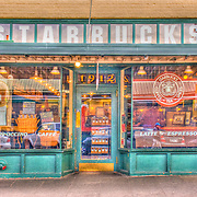 Starbucks Coffee original store location, Pike Place Market, Seattle, Washington