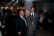 SIR PHILIP GREEN;  DONNA AIR; DAVID WALLIAMS;, Afterparty for Burberry  Spring/Summer 2010 Show. Horseferry House. Horseferry Rd. London sW1.  London Fashion Week.  22 September 2009.