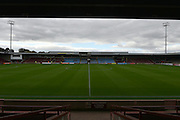 Scunthorpe United Glanford Park before the Sky Bet League 1 match between Scunthorpe United and Shrewsbury Town at Glanford Park, Scunthorpe, England on 17 October 2015. Photo by Ian Lyall.