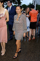 LILLIAN VON STAUFFENBERG at the annual Serpentine Gallery Summer Party co-hosted by Jimmy Choo shoes held at the Serpentine Gallery, Kensington Gardens, London on 30th June 2005.<br /><br />NON EXCLUSIVE - WORLD RIGHTS
