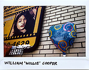"A balloon for Community Activist William ""Willie"" Cooper, 58-year-old, is seen next to a billboard in the 100 block of West 95th Street in Chicago, July 18, 2017. Cooper was shot in the mouth and torso from an AR-15 assault rifle during a drive-by shooting and died at the scene on July 15, 2017."