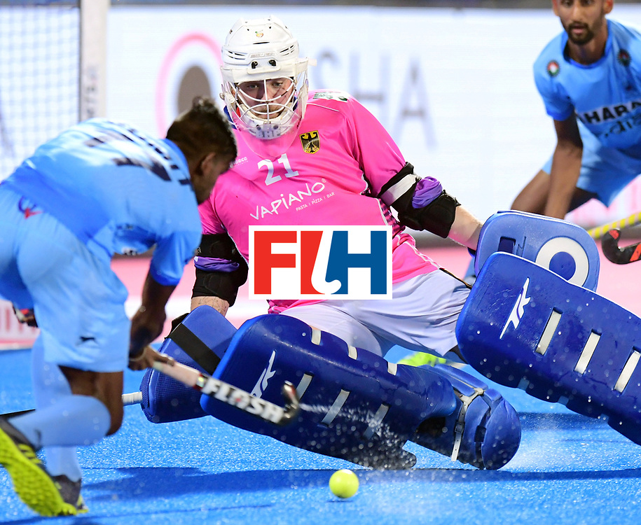Odisha Men's Hockey World League Final Bhubaneswar 2017<br /> Match id:21<br /> India v Germany<br /> Foto: keeper Tobias Walter (Ger) <br /> COPYRIGHT WORLDSPORTPICS FRANK UIJLENBROEK