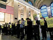 "Amnesty International USA ""No ban! No wall"" protest"