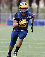Belen Jesuit Football Vs. Gulliver Raiders on September 16, 2011.  Belen behind Al Chica's electrifying performance defeated the Raiders in OT..45-38 at Belens House!