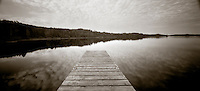 PL07710-00...MICHIGAN - Dock a Todd Harbor on Isle Royale National Park.