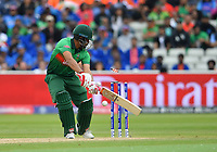 Cricket - 2019 ICC Cricket World Cup - Group Stage: Bangladesh vs. India<br /> <br /> Bangladesh's Tamim Iqbal clean bowled by India's Mohammed Shami for 22, at Edgbaston<br /> <br /> COLORSPORT/ASHLEY WESTERN