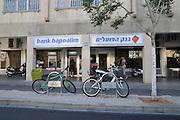 Israel, Tel Aviv, A brach of Bank Hapoalim