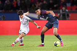 January 17, 2018 - Paris, France - 03 PRESNEL KIMPEMBE (psg) - 22 Changhoon KWON  (Credit Image: © Panoramic via ZUMA Press)