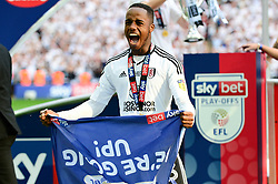 Ryan Sessegnon of Fulham celebrates - Mandatory by-line: Dougie Allward/JMP - 26/05/2018 - FOOTBALL - Wembley Stadium - London, England - Aston Villa v Fulham - Sky Bet Championship Play-off Final