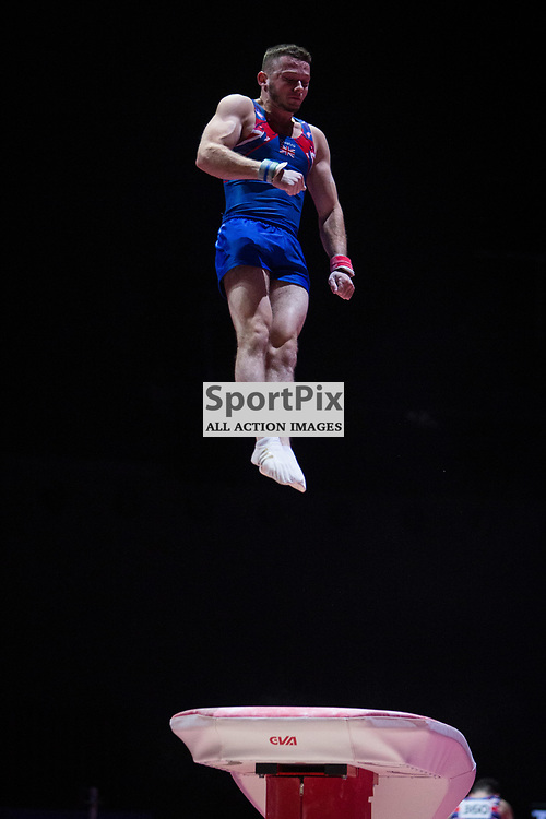 Dominick Cunningham of Great Britain Gymnastics Team Men Qualification - 2018 European Championships Glasgow, 9 August 2018. (c) Adam Oliver | sportPix.org.uk