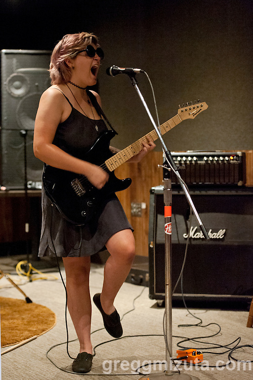 Girl Puke's Dani Violet performs at the Commonauts Youth Outreach Program Summer Opener at the Boise Hive on June 4, 2016 in Boise, Idaho. (Gregg Mizuta/greggmizuta.com)<br /> <br /> Julia &amp; the Jumpscares, Tag Along Friend, Girl Puke, Three Gunas.