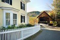 Woodstock Middle Bridge, Woodstock Vermont USA