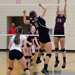 TOM KELLY IV &mdash; DAILY TIMES<br /> Garnet Valley took on Strath Haven in the Central League volleyball championship game on Wednesday October 15, 2014 at Ridley High School.