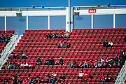 The upper deck is sparsely populated during a NFL game between the San Francisco 49ers and the Arizona Cardinals at Levi's Stadium in Santa Clara, Calif., on November 5, 2017. (Stan Olszewski/Special to S.F. Examiner)