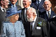 Prinses Beatrix bij reünie Genootschap Engelandvaarders