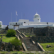 South America, Uruguay, Canelones, Montevideo, Cerro de Montevideo, Museo Militar Fortaleza General Artigas, Military Museum of the Fort of General Artigas, constructed in 1808, this fort was the last constructed during the Colonial Period. It was built to protect the lighthouse, not the city.