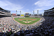 CHICAGO - JUNE 26:  A general view of U.S. Cellular Field as the Chicago White Sox play the Chicago Cubs on June 26, 2009 at U.S. Cellular Field in Chicago, Illinois.  (Photo by Ron Vesely)