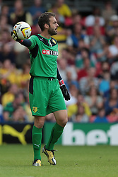 Watford's Manuel Almunia  - Photo mandatory by-line: Nigel Pitts-Drake/JMP - Tel: Mobile: 07966 386802 10/08/2013 - SPORT - FOOTBALL - Vicarage Road - Hertfordshire -  Watford v AFC Bournemouth - Sky Bet Championship