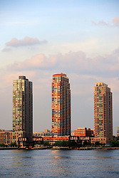 USA NEW YORK JUN10 - Skyline view of Long Island City, Housing Projects, New York...jre/Photo by Jiri Rezac..© Jiri Rezac 2010