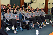 team femminile senior<br /> Stelle d'Argento a Lucca. Premiazione Under 17 e Under 20 Femminili<br /> FIP 2016<br /> Lucca, 18/11/2016<br /> Foto Ciamillo - Castoria