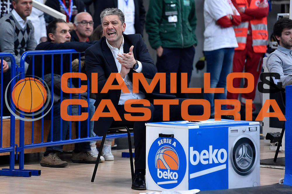 DESCRIZIONE : Trento Lega A 2014-2015 Dolomiti Energia Trento Vanoli Cremona<br /> GIOCATORE : Andrea Conti<br /> CATEGORIA : esultanza<br /> SQUADRA : Vanoli Cremona<br /> EVENTO : Campionato Lega A 2014-2015<br /> GARA : Dolomiti Energia Trento Vanoli Cremona<br /> DATA : 23/11/2014<br /> SPORT : Pallacanestro<br /> AUTORE : Agenzia Ciamillo-Castoria/GiulioCiamillo<br /> GALLERIA : Lega Basket A 2014-2015<br /> FOTONOTIZIA : Trento Lega A 2014-2015 Dolomiti Energia Trento Vanoli Cremona<br /> PREDEFINITA :