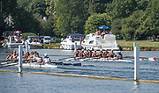 Henley. Berks, United Kingdom. <br /> <br /> 2017 Henley' Women's Regatta. Rowing on, Henley Reach. River Thames. <br /> <br /> <br /> Sunday  18/06/2017<br /> <br /> <br /> [Mandatory Credit Peter SPURRIER/Intersport Images]