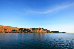 The mouth of the Hunter River on the Kimberley coast.