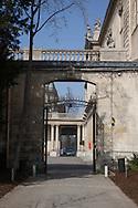 France Paris-4th district.  le marais, historical center. Archives nationales