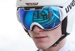 03.01.2015, Bergisel Schanze, Innsbruck, AUT, FIS Ski Sprung Weltcup, 63. Vierschanzentournee, Innsbruck, vor dem Trainingssprung, im Bild Marinus Kraus (GER) // Marinus Kraus of Germany  preparing for the Training Jump for the 63rd Four Hills Tournament of FIS Ski Jumping World Cup at the Bergisel Schanze in Innsbruck, Austria on 2015/01/03. EXPA Pictures © 2015, PhotoCredit: EXPA/ JFK