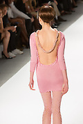 Pink mini-dress. By Zang Toi, shown at his Spring 20132 Fashion Week show in New York.