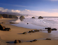 Crescent Beach Ecola State Park Oregon USA State beautiful