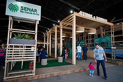 Estande Ovinos e Bovinos, onde ocorre a oficina de Bem-Estar Animal na 42ª Expointer, que ocorre entre 24 de agosto e 01 de setembro de 2019 no Parque de Exposições Assis Brasil, em Esteio. FOTO: Joel Vargas / Agência Preview