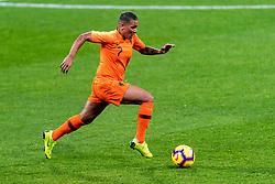 09-11-2018 NED: UEFA WC play-off final Netherlands - Switzerland, Utrecht<br /> European qualifying for the 2019 FIFA Women's World Cup - / Shanice van de Sanden #7 of Netherlands