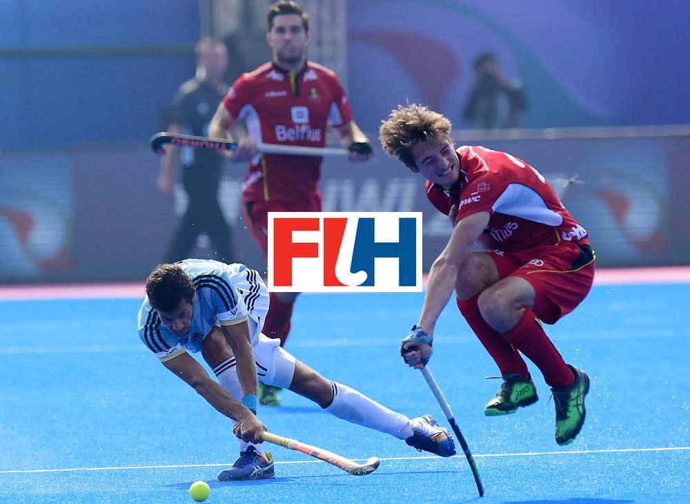 Odisha Men's Hockey World League Final Bhubaneswar 2017<br /> Match id:03<br /> Argentina v Belgium<br /> Foto: <br /> WORLDSPORTPICS COPYRIGHT FRANK UIJLENBROEK