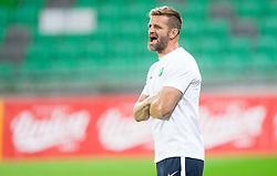 Igor Biscan, head coach of NK Olimpija Ljubljana during football match between NK Olimpija Ljubljana and NK Celje in 1st Round of Prva liga Telekom Slovenije 2017/18, on July 16, 2017 in SRC Stozice, Ljubljana, Slovenia. Photo by Vid Ponikvar / Sportida