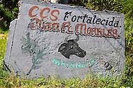 Farm sign in Corral Nuevo, Matanzas, Cuba.