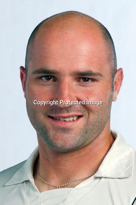 Luke Woodcock, New Zealand Black Caps cricket headshots. 2011/12 season. Photo: NZ Cricket