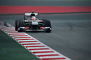 February 21, 2013 - Barcelona Spain. Nico Hulkenberg, Sauber F1 Team during pre-season testing from Circuit de Catalunya.