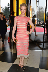 EMILIA FOX at a VIP preview of the V&A's new exhibition 'The Glamour of Italian Fashion' - a comprehensive look at Italian Fashion from 1945-2014 held at The Victoria & Albert Museum, London on 2nd April 2014.
