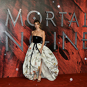 Leila George Arrivers at the Mortal Engines - World Premiere on 27 November 2018, London, UK