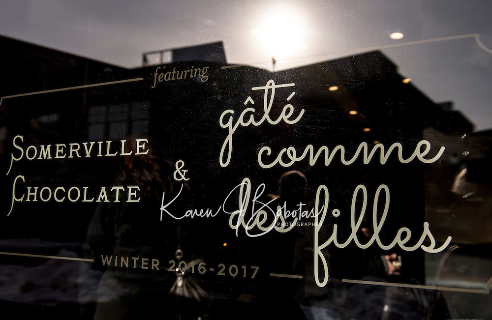 Alexandra Whisnant - Gate Comme des Filles Chocolate Factory in Somerville, MA.  ©2017 Karen Bobotas Photographer