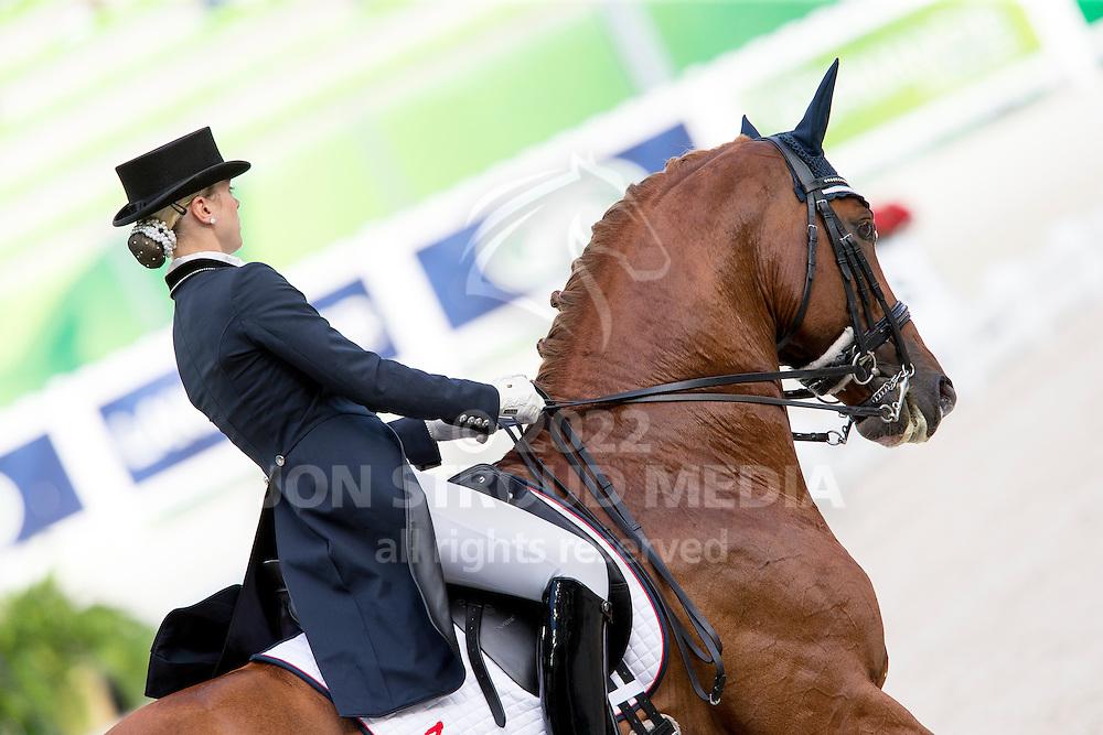 Trude Hestengen, (NOR), Tobajo Pik Disney - Grand Prix Team Competition Dressage - Alltech FEI World Equestrian Games&trade; 2014 - Normandy, France.<br /> &copy; Hippo Foto Team - Leanjo de Koster<br /> 25/06/14