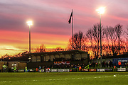Away stand during the EFL Sky Bet League 2 match between Forest Green Rovers and Salford City at the New Lawn, Forest Green, United Kingdom on 18 January 2020.