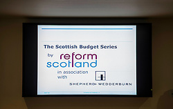 Pictured: <br /> Tory finance spokesman Murdo Fraser addressed an event organised by think tank Reform Scotland, and hosted by Shepherd and Wedderburn, which focused on the Scottish Budget.  This is part of the think tank's series of speeches on the Scottish Government's tax and spending plans<br /> <br /> Ger Harley | EEm 7 February 2017