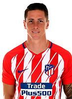 Spain - La Liga Santander 2017-2018 / <br /> ( Atletico de Madrid ) - <br /> Fernando Jose Torres Sanz - Fernando Torres