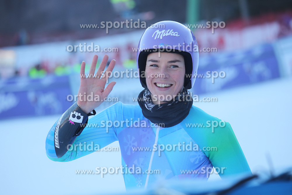 Tina Maze during 6th Ladies' Giant slalom at 53rd Golden Fox - Maribor of Audi FIS Ski World Cup 2015/16, on January 7, 2017 in Pohorje, Maribor, Slovenia. Photo by Marko Vanovsek / Sportida