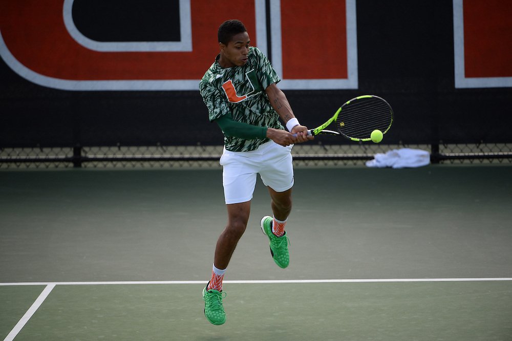 2016 Miami Hurricanes Men's Tennis vs Troy