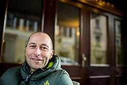 Portrait of Tomas Globocnik, former Slovenian Biathlon athlete, on January 12, 2018 in Trzic, Slovenia. Photo by Vid Ponikvar / Sportida